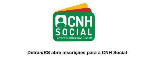 carteira de habilitação grátis Rio Grande do Sul