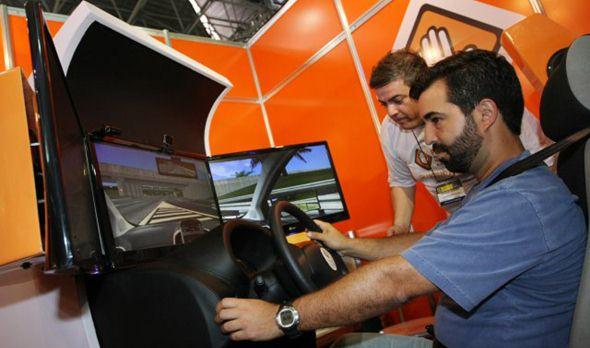simulador de direção do Detran