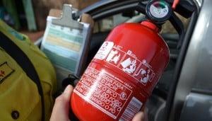 receber dinheiro da multa do extintor de incêndio já paga