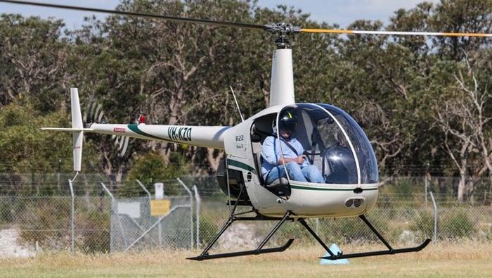 habilitacao para helicoptero