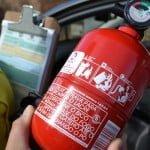 Receber dinheiro da multa de extintor de incêndio