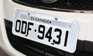 Como personalizar placa de veículos