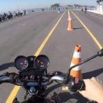 O que reprova no exame de moto?