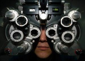 Qual a porcentagem de visão para dirigir?